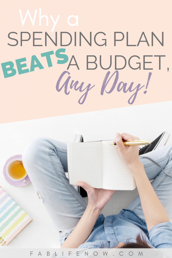 Why a spending plan beats a budget any day.  It moves beyond a budget to set goals and direct them.