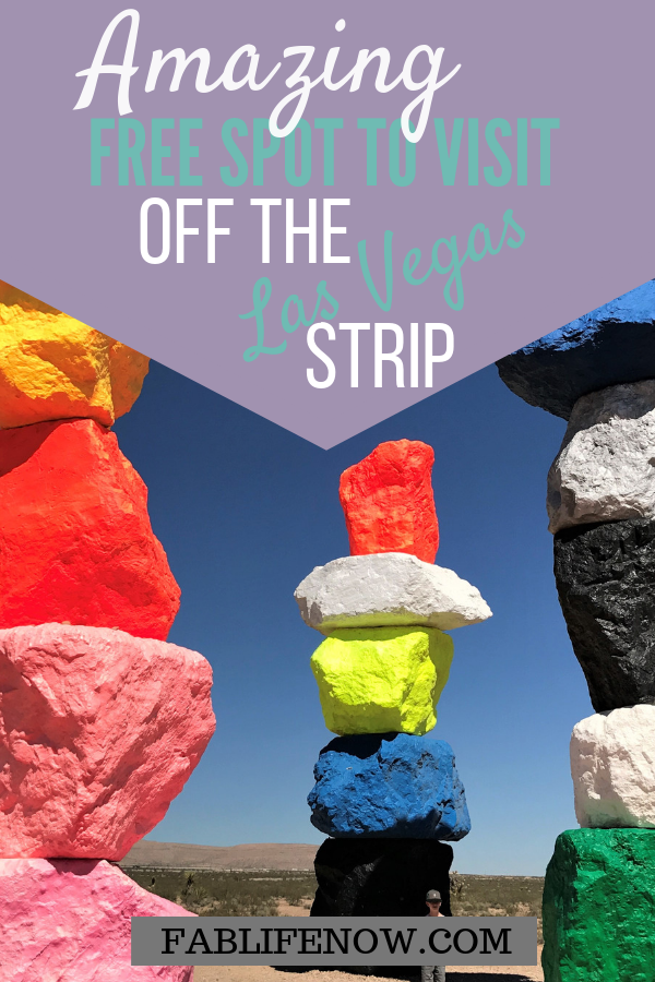 Seven Magic Mountains | Art Display in Las Vegas | Free fun off the Strip | Affordable things to do with kids in Las Vegas