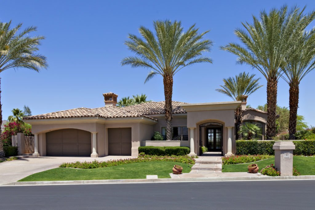 entrance to a beautiful home, cutting costs on your home