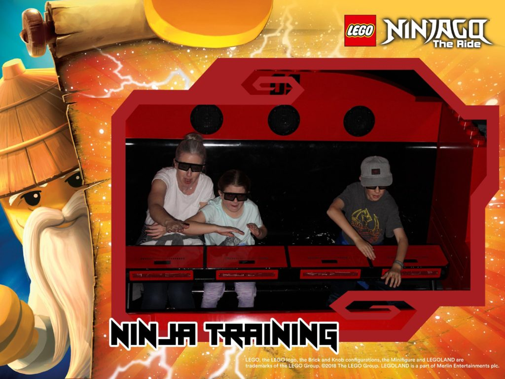 Ninjago the ride at LEGOLAND california is a top choice and best tip for visiting one day.