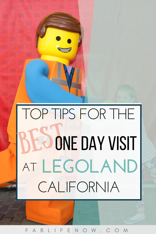 Top tips for the best one day visit at legoland california.