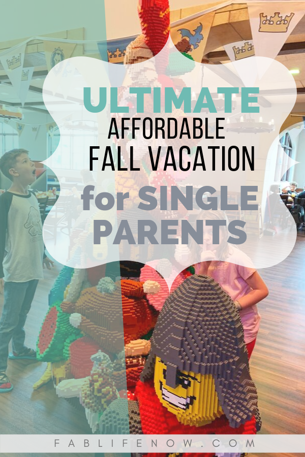 Affordable San Diego Fall Vacation for Single Parents