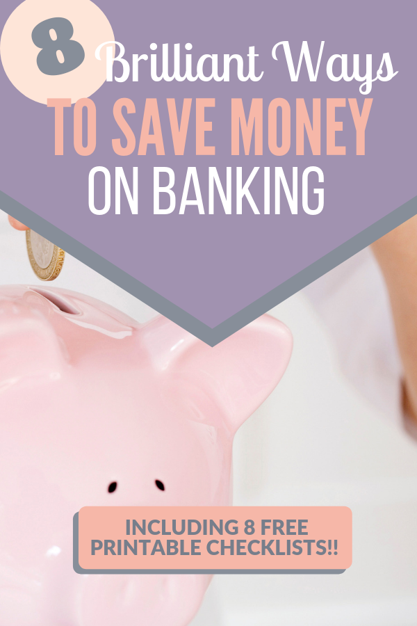 brilliant ways to save money on banking, cut banking fees, stop paying interest on loans and credit cards