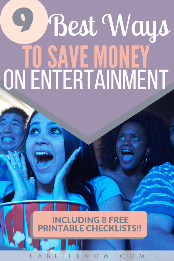9 best ways to save money on entertainment, cutting costs on date night, save money on fun with the family