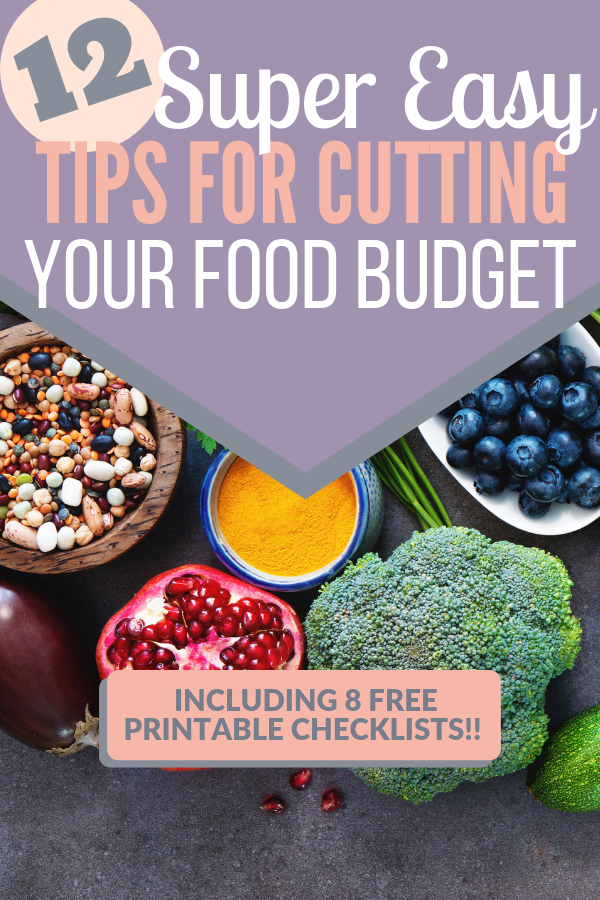super easy tips for cutting your food budget