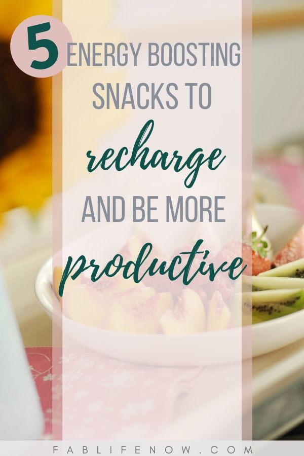 snacks to boost energy