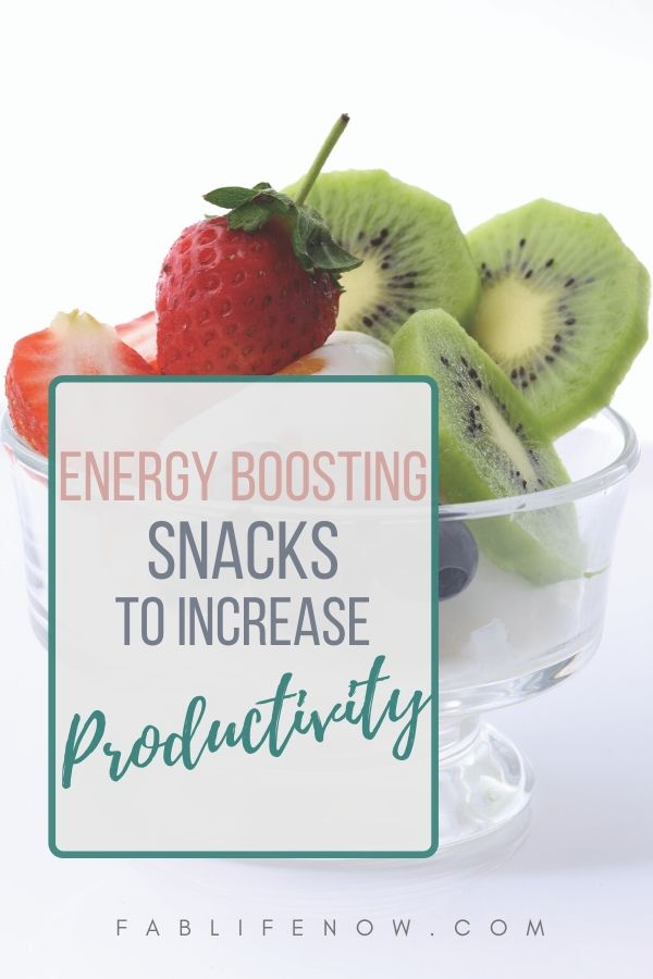 energy snacks productivity