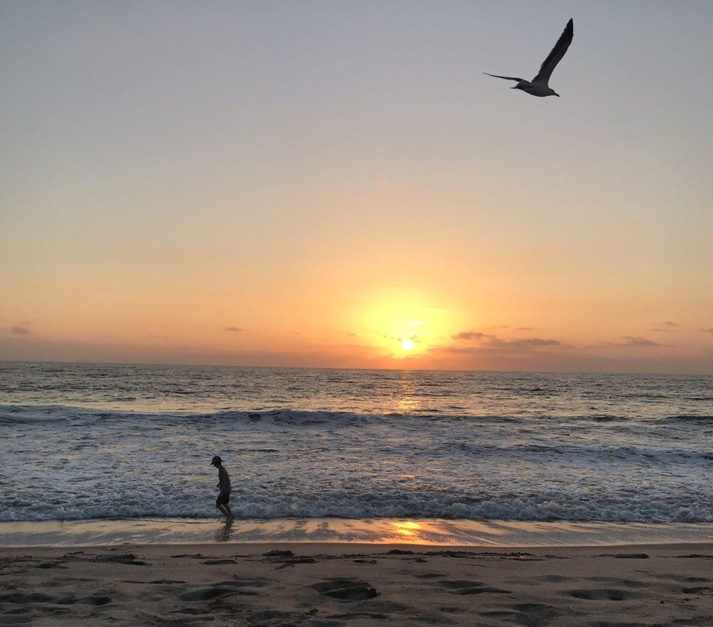 San Diego Beach Fall Vacation